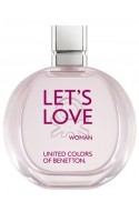 Let's Love By  Benetton for women+ Free 2.5ml of LVanille natural fragrance worth Rs 149/-