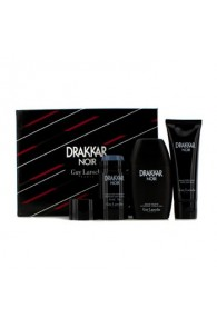 Guy Laroche Drakkar Noir Coffret Gift Set for Men (Set of 3)  (Import Only)