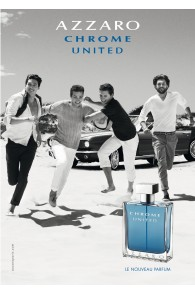Azzaro Chrome United Eau De Toilette Spray For Men-100 ml