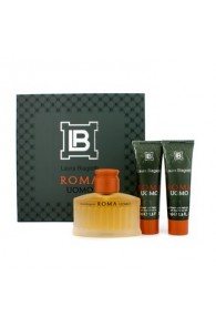 Laura Biagiotti Roma Coffret Gift Set for Men (Set of 3) (Import Only)