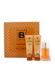Laura Biagiotti Roma Coffret Gift Set for Women (Set  of 3) (Import Only)