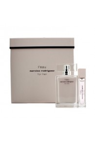 Narciso Rodriguez L' Eau For Her Coffret Gift Set for Women (Set of  2) (Import  Only)