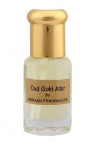 Oud Gold  Attar by Armaan 5 ml + free 2.5ml 100% natural perfume concentrate worth Rs.50/-