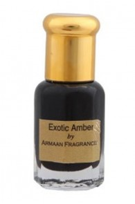 Exotic Amber  Attar by Armaan 5 ml + free 2.5ml 100% natural perfume concentrate worth Rs.50/-