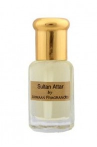 Sultan Attar by Armaan 5 ml + free 2.5ml 100% natural perfume concentrate worth Rs.50/-