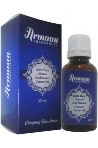 Armaan 100% Pure Natural Coldpressed Castor Carrier Oil  (30 ml)
