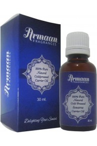 Armaan 100% Pure Natural Coldpressed Sesame Carrier Oil  (30 ml)