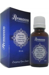 Armaan 100% Pure Natural Coldpressed Apricot Carrier Oil  (30 ml)