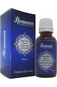 Armaan 100% Pure Natural Coldpressed Sweet Almond Carrier Oil  (30 ml)