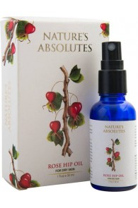 Nature's Absolutes Pure Rosehip Seed Oil , Natural & Coldpressed - 30 ml