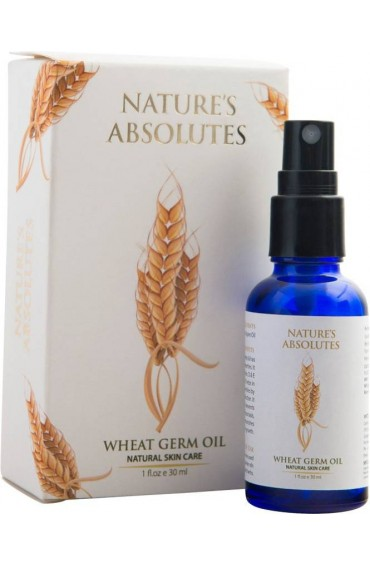 Nature's Absolutes Wheatgerm Carrier Oil for Face , Hair , Skin - 30 ml