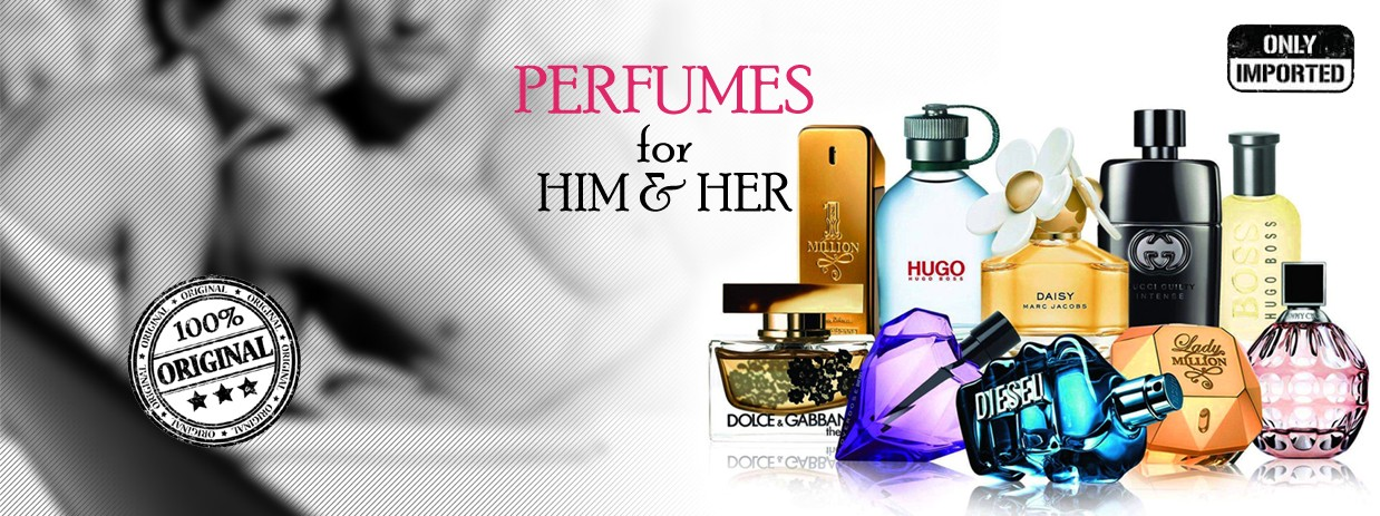 Branded Perfumes for Men & Women