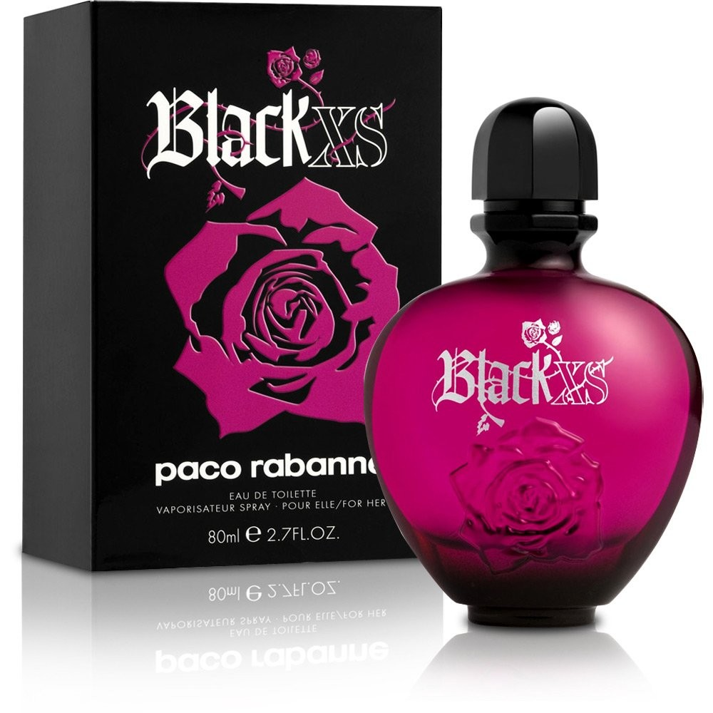 Black Xs By Paco Rabanne Edt 80ml For Women Import Only