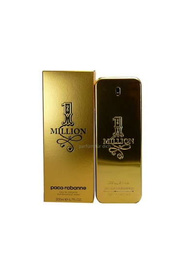 1 Million 200 ml By Paco Rabanne For Men