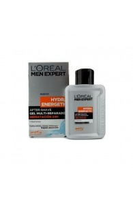 Men Expert Hydra Energetic After Shave Multi-Repairing 24H Hydration Gel by Loreal (Import only)