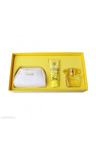Yellow Diamond 4 piece gift set by Versace for Women