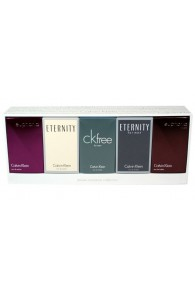 Calvin Klein 5 Piece Miniature Fragrance Gift Set For Men & Women