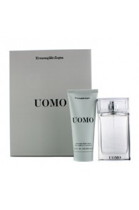 Ermenegildo Zegna Uomo Coffret Gift Set for Men (Set of 2) (Import Only)