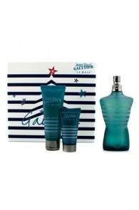 Jean Paul Gaultier Le Male Coffret Gift Set for Men (Set of 3) (Import Only)