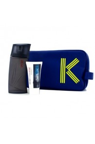 Kenzo Homme Sport Coffret Gift Set for Men (Set of 2+1 Pouch) (Import Only)