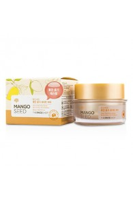 THE FACE SHOP Mango Seed Glow Date-Prep Butter (Prep Skin For Makeup)  Size: 50ml