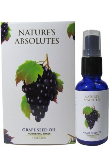 Nature's Absolutes Grapeseed Carrier Oil - 30 ml