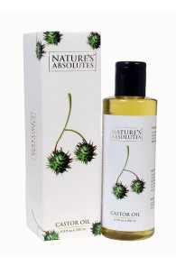 Nature's Absolutes Organic Castor Carrier Oil - 200 ml