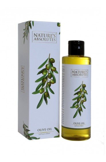 Nature's Absolutes Pure Olive Carrier Oil -Cold Pressed- 200 ml