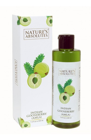 Nature's Absolutes Amla Oil, 220ml