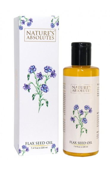 natures absolutes Flaxseed oil-220ml