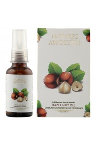 Nature's Absolutes Cold Pressed Hazelnut Carrier Oil, 30ml